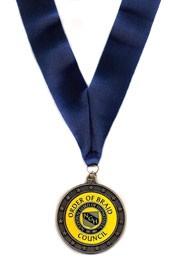 'Order of Braid' medal - Presented to Martin Kiely Cork, Ireland